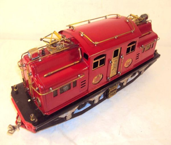 3: ABT: Lionel #408E Red Dual Motors Electric (R)
