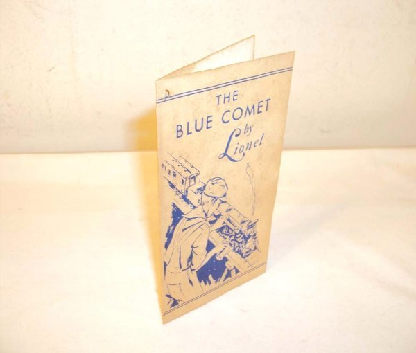 7: ABT: Rare Lionel Blue Comet Hang-Tag