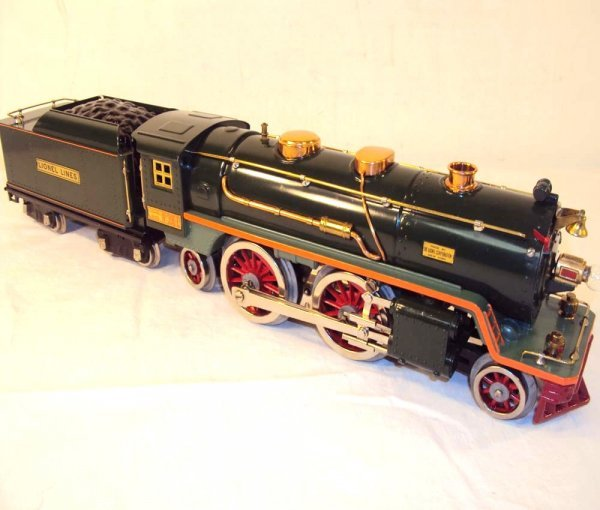 19: ABT: Lionel Two-Tone Green #390E Steam Engine & Ten