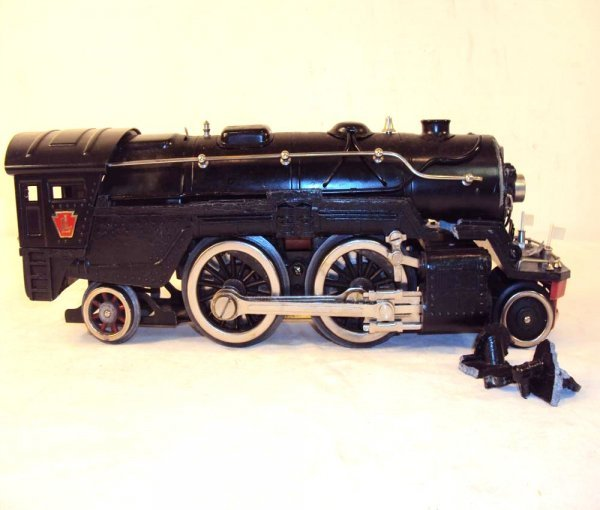 22: ABT: Lionel #1835E Black Standard Gauge Steam Engin