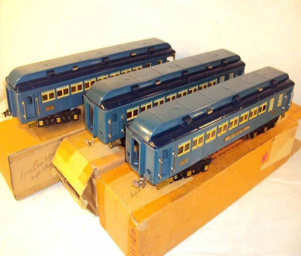 60: ABT: Great Lionel #420/421/422 Blue Comet Brass Tri