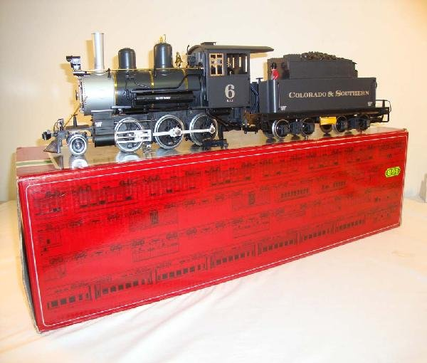 1: ABT: LGB G Scale: #2019S Colorado & Southern 2-6-0 S