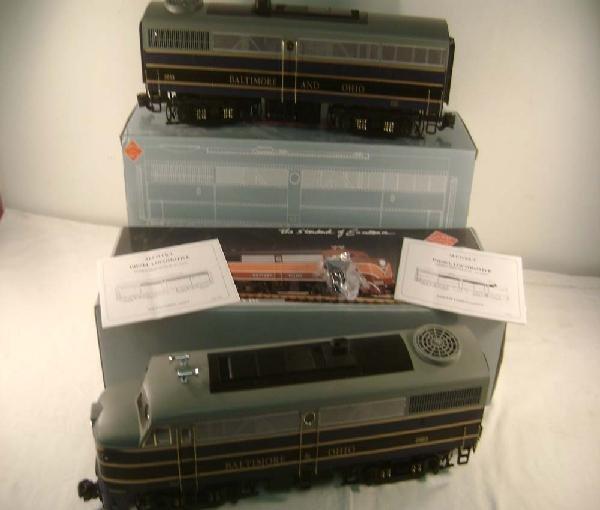2: ABT: G Scale: Aristo #22053/22003 B&O FA-1 AB Diesel