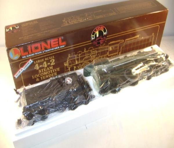 4: ABT: Lionel G Scale:#8-85107 Large Scale 4-4-2 Great