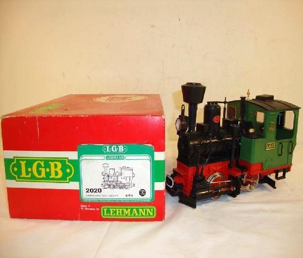 10: ABT: LGB G Scale: #2020 Steam Locomotive/OB