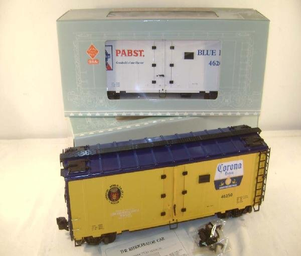 17: ABT: G Scale: Aristo #46203 Pabst /46250 Heinz Reef