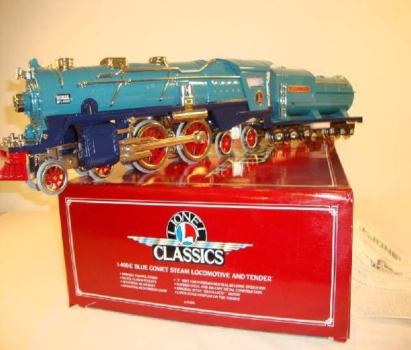 350: ABT: Mint Lionel Classics #13103 400E Blue Comet S