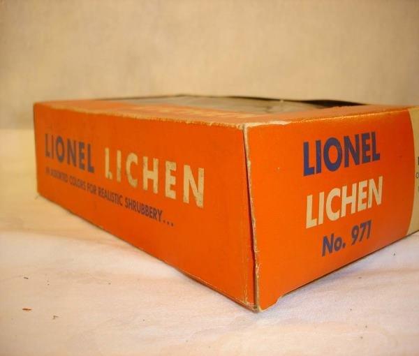 1003: ABT:Mint Lionel #971 Lichen/No oz Variation