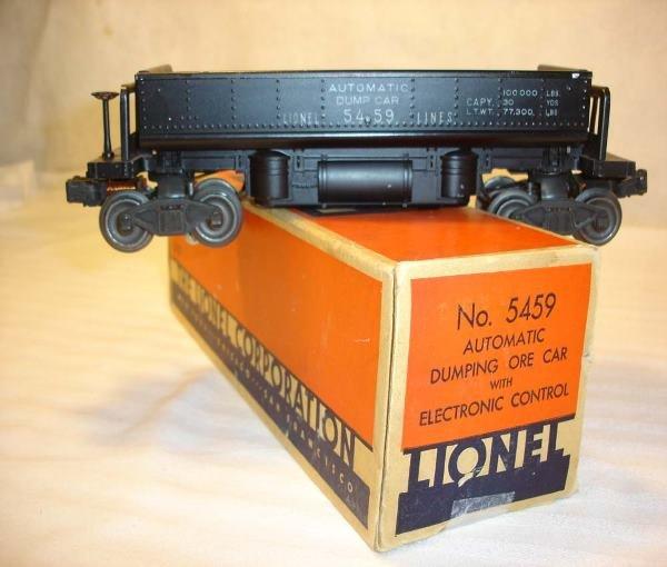 1007: ABT:Nice Lionel #5459 Electronic Coal Dump/OB+