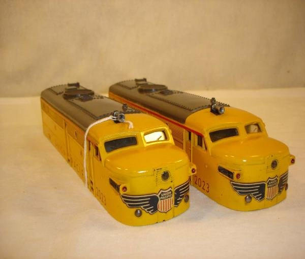 1008: ABT:Lionel #2023 Yellow UP Alco Shells