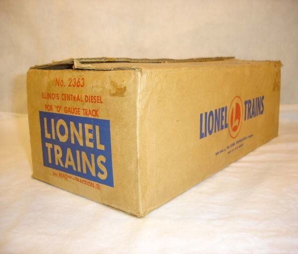 1010: ABT:Lionel #2363 Illinois Central F-3 Master Cart