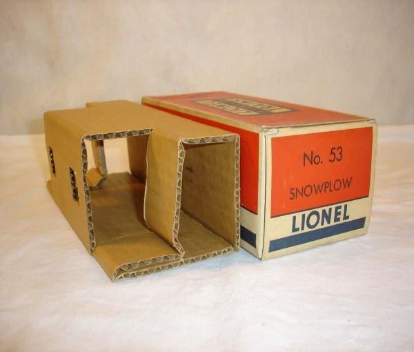1014: ABT:Brick Lionel #53 D&RG Snowplow Original Box