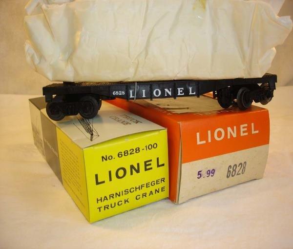 1016: ABT:Mint Lionel #6828 P&H Crane/Dark/66c OB