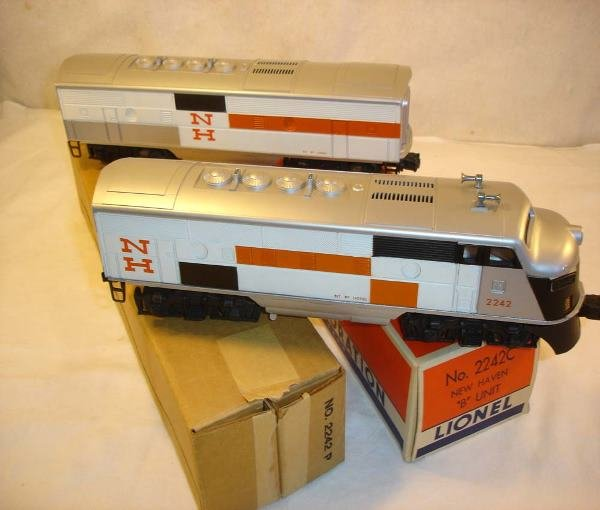 1020: ABT:Great Lionel #2242 NH F-3 ABs/Bricks OBs+