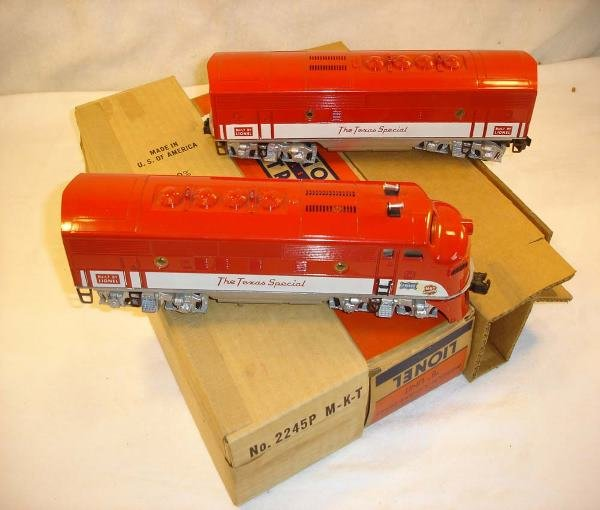 1090: ABT:Great Lionel #2245 TS F-3 AB Diesels/Obs