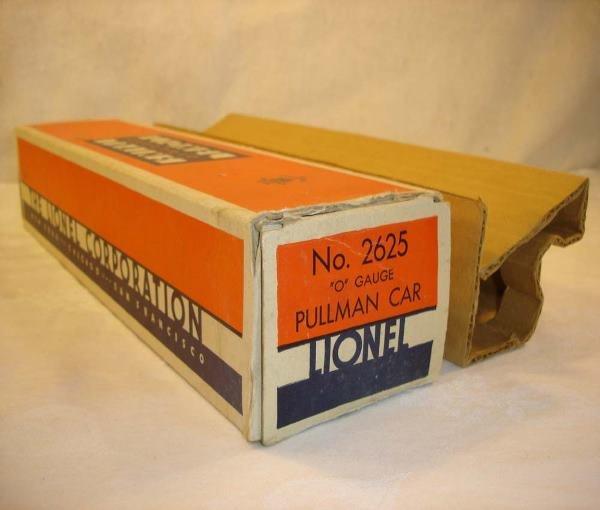 1143: ABT:Nice Lionel #2625 Irvington Original SF-1 Box
