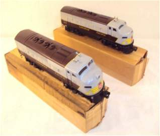 250: ABT: Lionel #2373 Canadian Pacific F-3 AA Diesels/