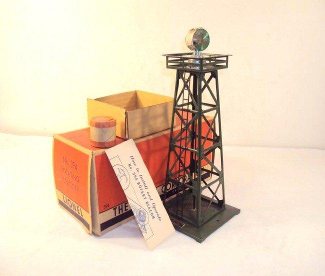 12: ABT: Scarce Lionel #394 Dark Green Operating Beacon