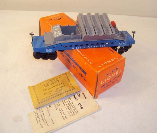 13: ABT: Outstanding Lionel #6544 Missile Firing Trail
