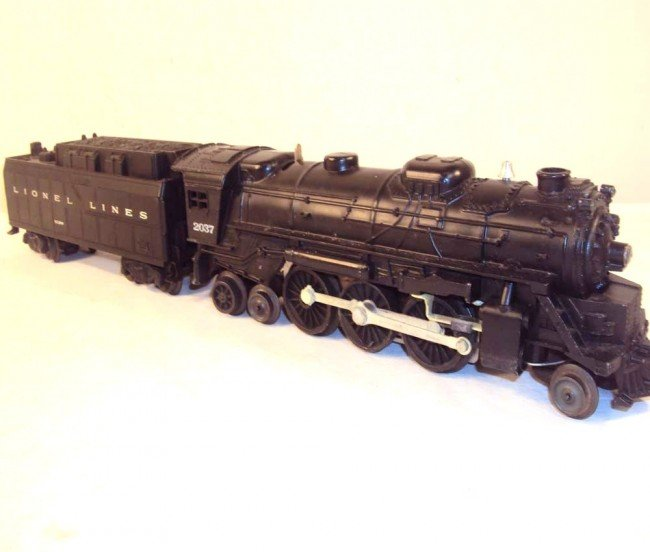 14: ABT: Lionel #2037 Steam Engine & #6026W Tender/OBs - 2