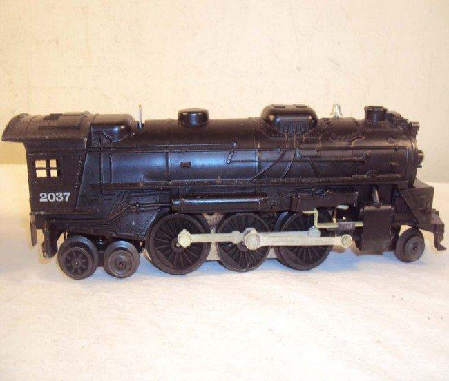 14: ABT: Lionel #2037 Steam Engine & #6026W Tender/OBs - 4