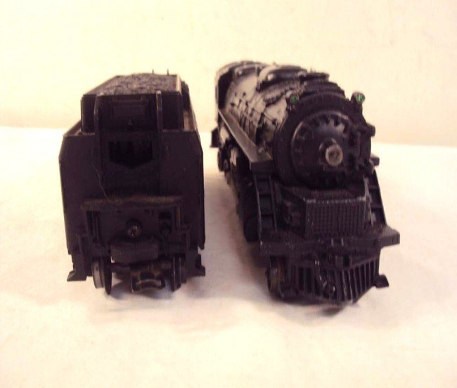 14: ABT: Lionel #2037 Steam Engine & #6026W Tender/OBs - 6