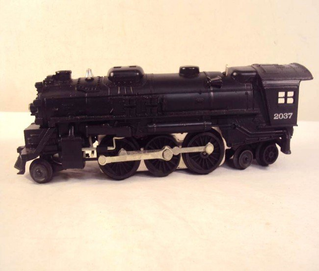 14: ABT: Lionel #2037 Steam Engine & #6026W Tender/OBs - 7
