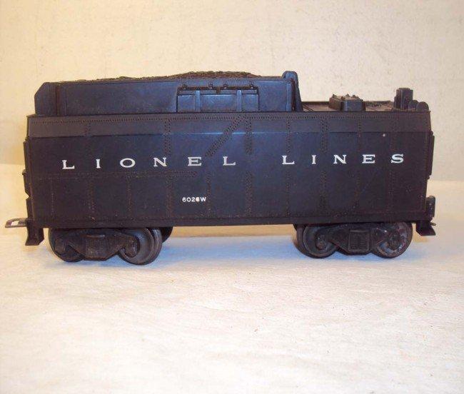 14: ABT: Lionel #2037 Steam Engine & #6026W Tender/OBs - 8