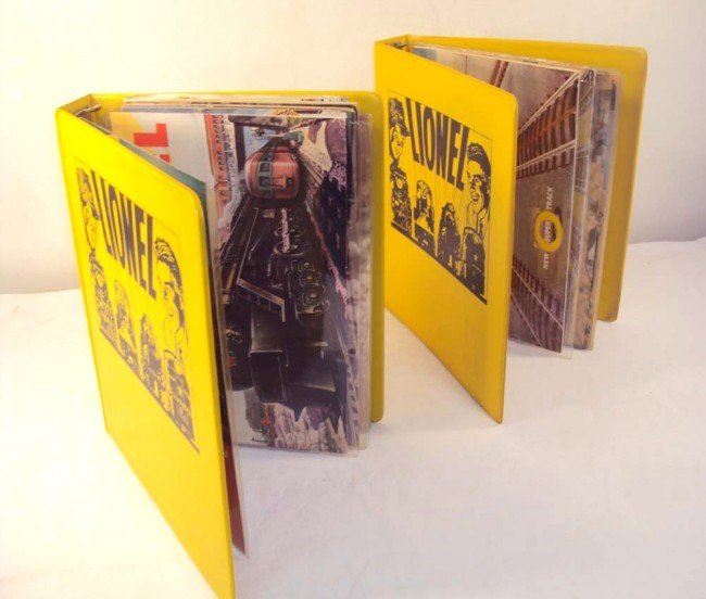 18: ABT: Lionel Post War Consumer Catalogs 1949-1969 w/