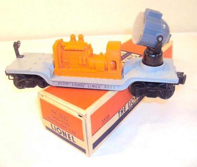 19: ABT: Scarce Variation Lionel #3520 Operating Search