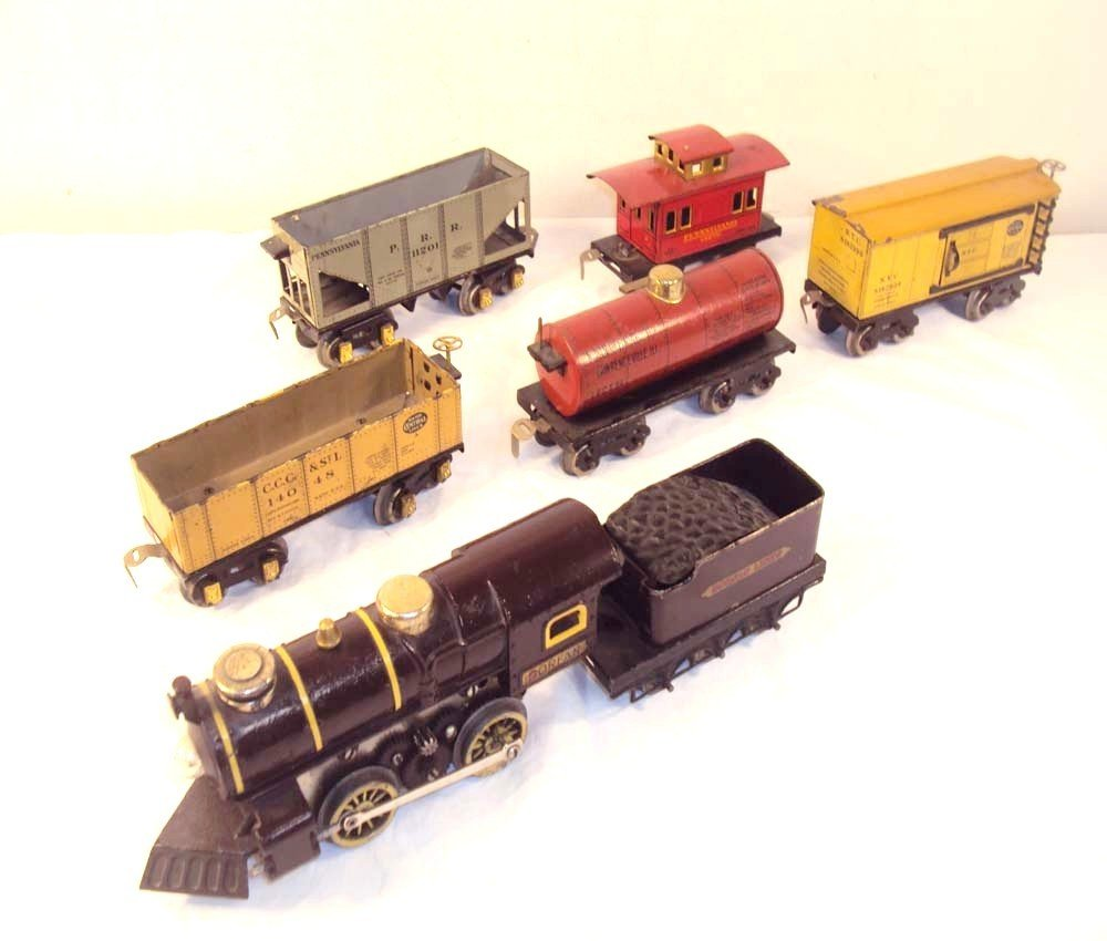 17: ABT: Rare Dorfan O Gauge 7-item #55 Steam Freight G