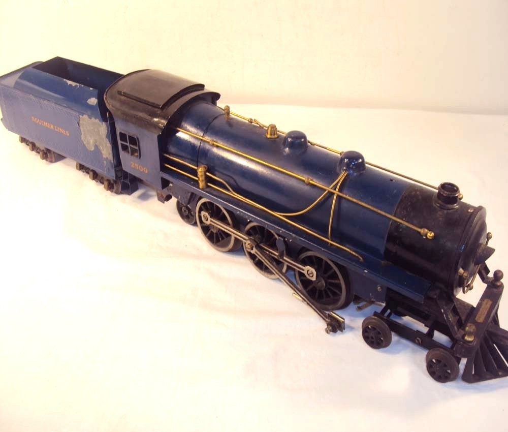 100: ABT: Boucher Wide Gauge #2500 Blue Comet Steam & T