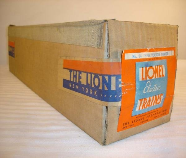 1: ABT:Mint/Sealed Lionel #94 (Gray?) High Tension/OB