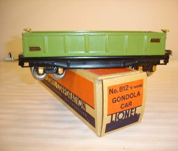 2: ABT:Great Lionel #812 Green Gondola/Nice OB