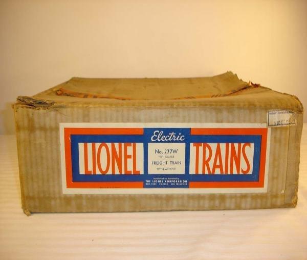 10: ABT:Brick Lionel #277W 1935 260 Set Box