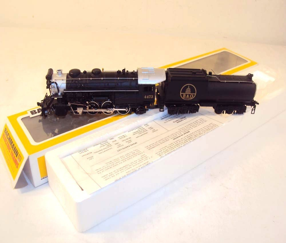 3: ABT: Bachmann HO #41-545-12 B&O Engine & Tender/OB