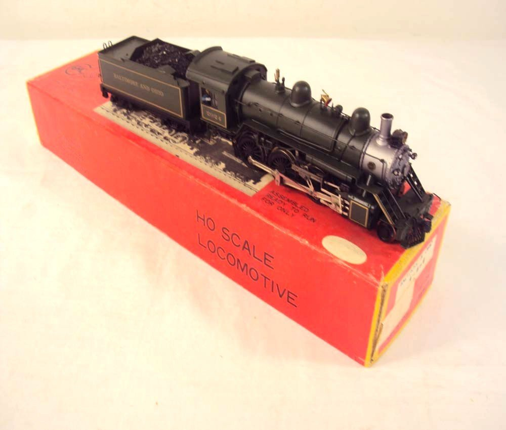 10: ABT: HO Train Company #2024 B&O Steam E&T/OB