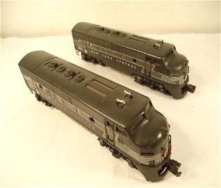 500: ABT: Nice Lionel #2344 NYC F3 AA Diesels