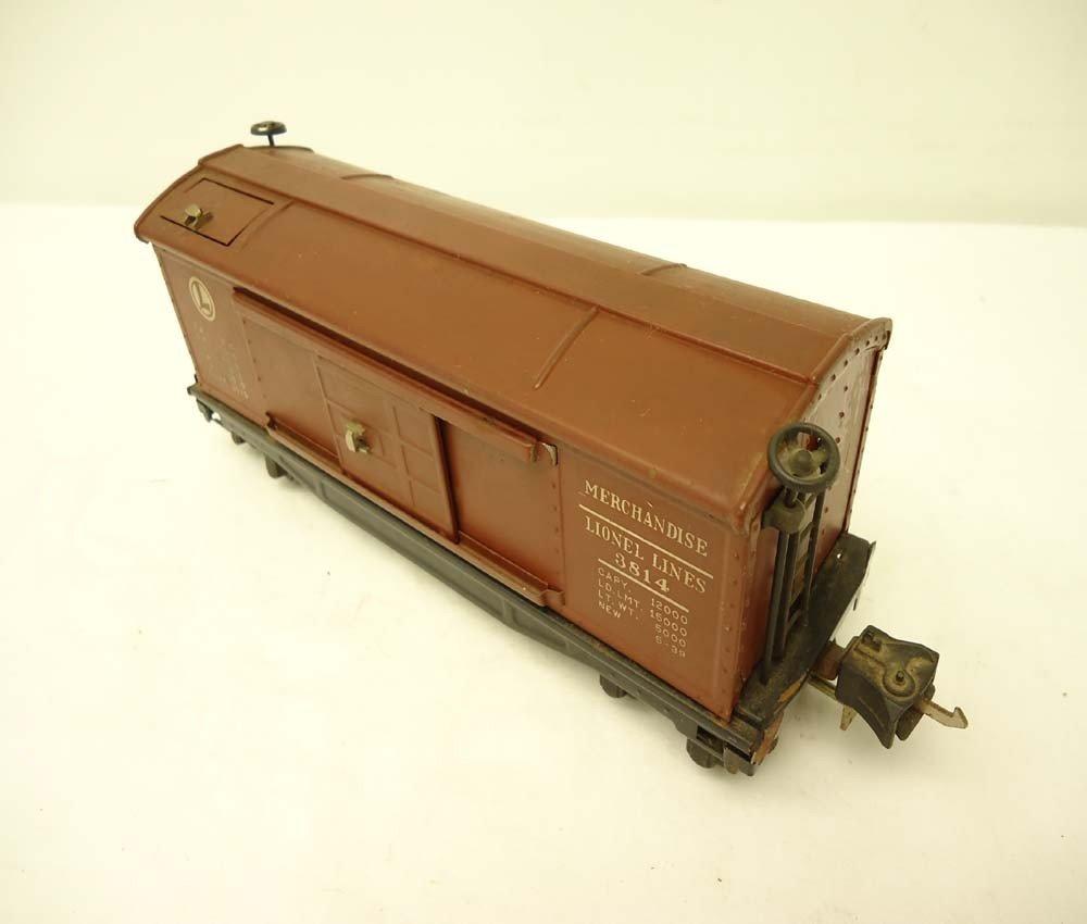 12: ABT: Lionel O-Gauge #3814 Operating Merchandise Car