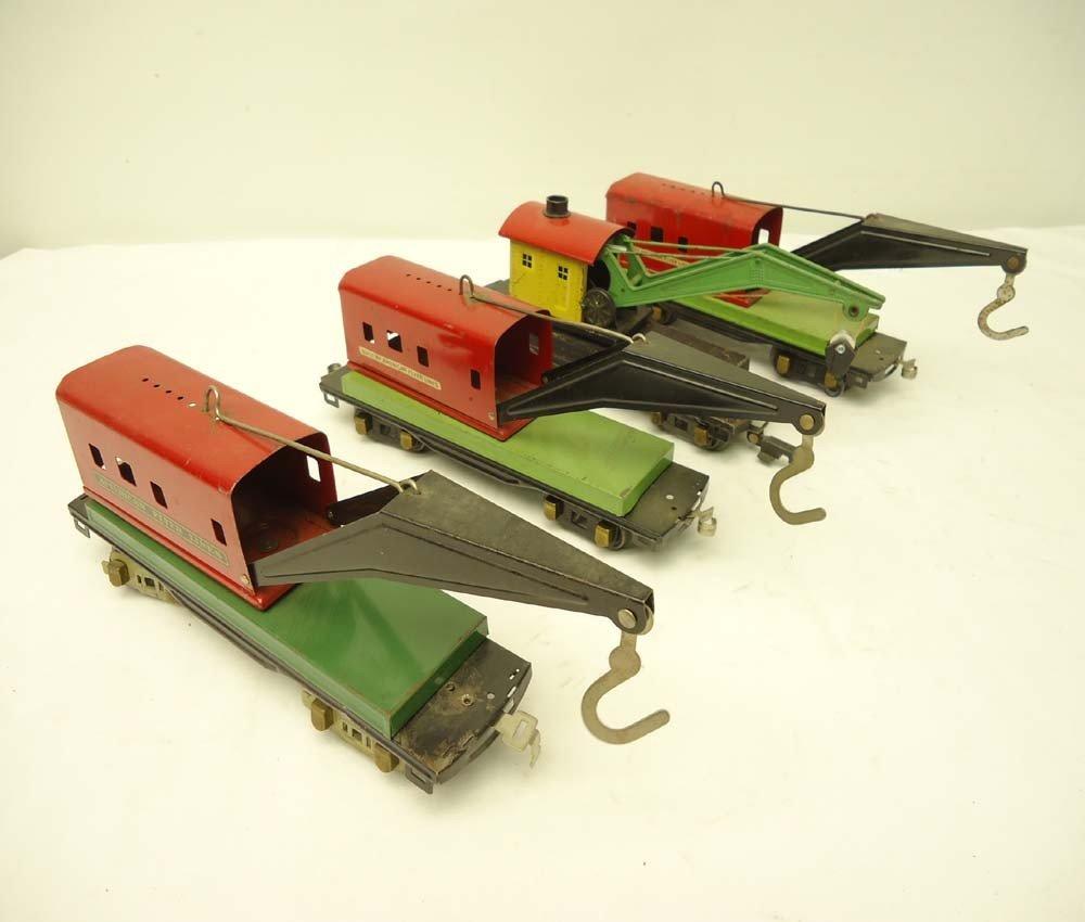 23: ABT: 4 AF O Gauge Crane Cars