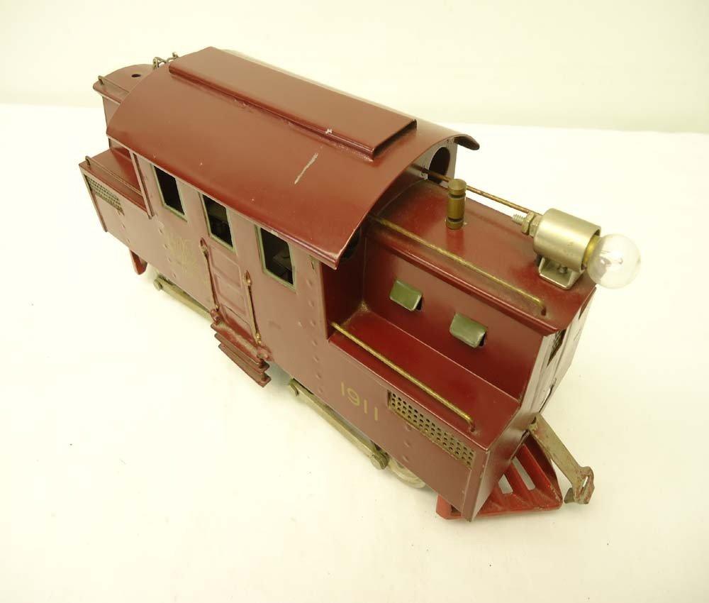 100: ABT: Rare Lionel Standard Gauge #1911 Maroon Elect