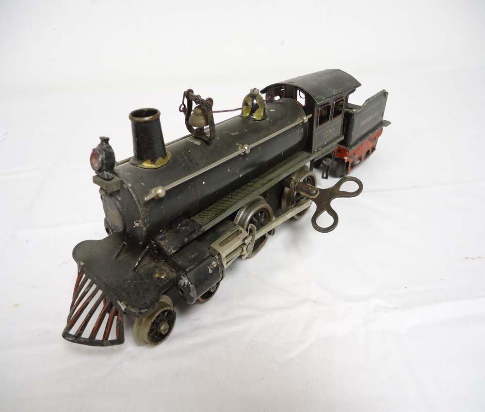 164: ABT: Marklin O Gauge Clockwork #1030 Steam Engine