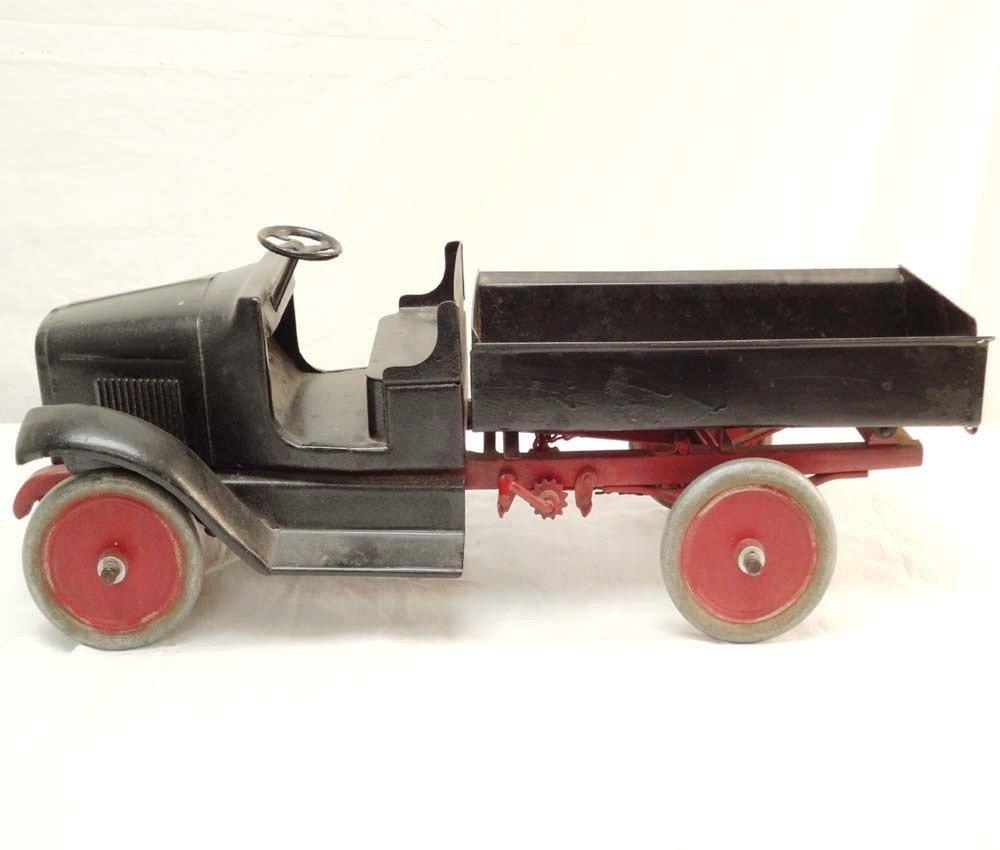 313: ABT: Heavy-Duty Stamped-Steel Toy Truck (R)