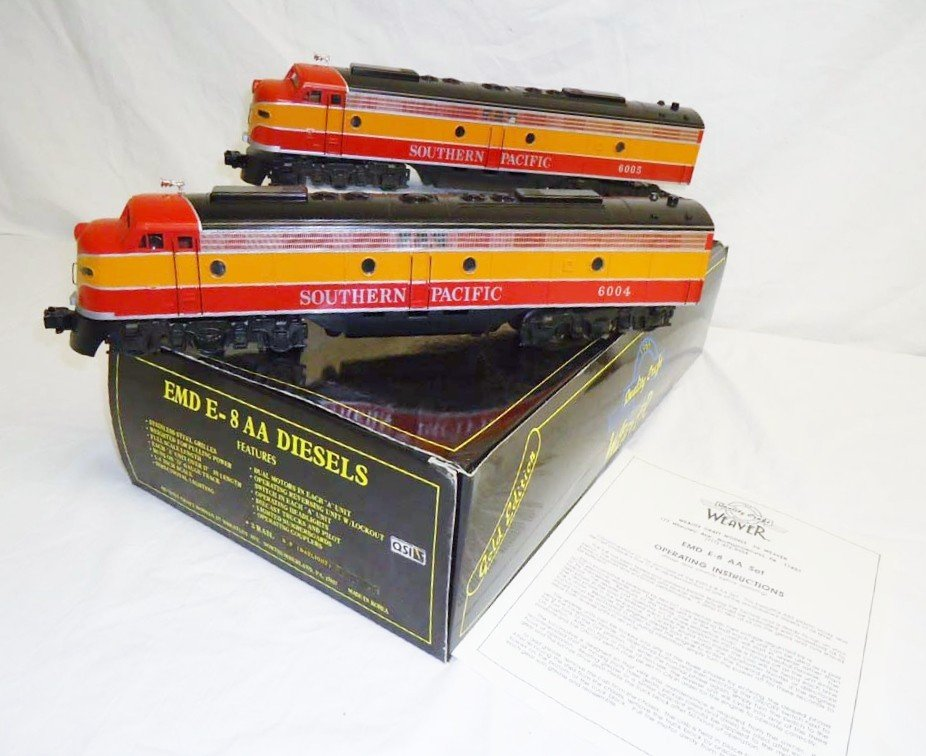 4: ABT: Weaver Southern Pacific EMD E-8 AA Scale Length