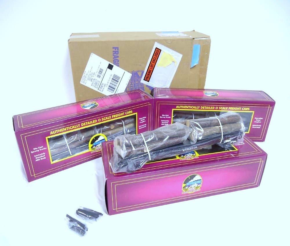7: ABT: Mint MTH #20-98103 Set of 3 W. Va. Pulp & Paper