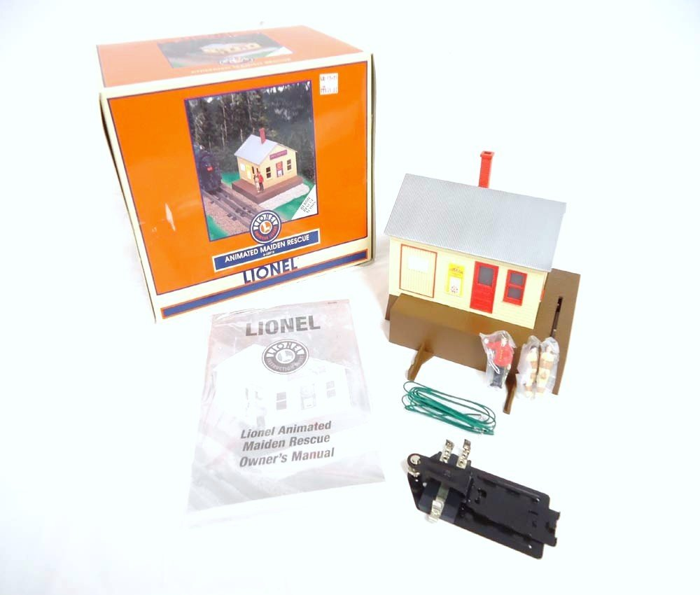 18: ABT: Mint Lionel #32919 Animated Maiden Rescue Hous