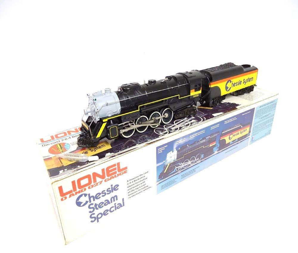 23: ABT: Mint Lionel #8003 Chessie Steam Special Berksh