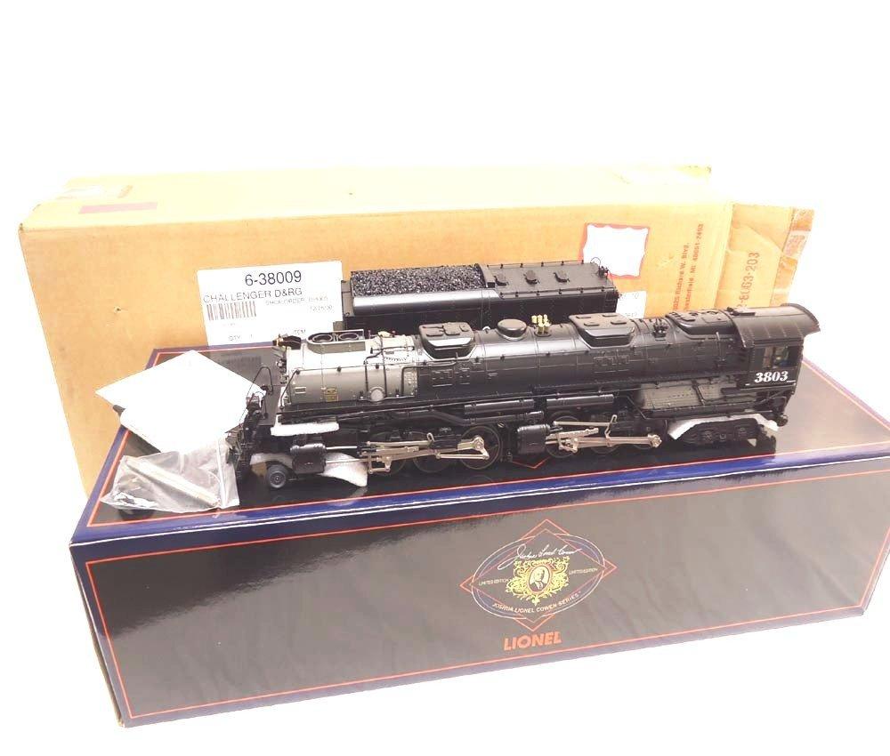50: ABT: Mint Lionel #38009 D&RG Challenger Steam Engin