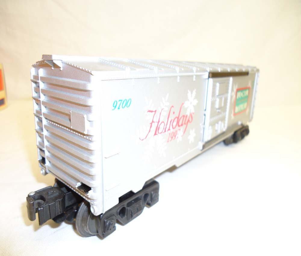 81: ABT: Lionel #16776 1997 Holiday Rail Sounds Box Car - 2