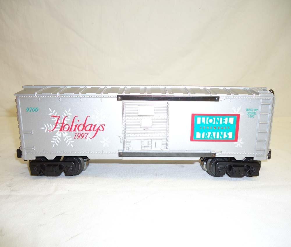 81: ABT: Lionel #16776 1997 Holiday Rail Sounds Box Car - 3